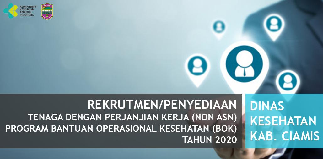 Hasil Evaluasi Persyaratan Administrasi Seleksi Tenaga dengan Perjanjian Kerja BOK Tahun 2020