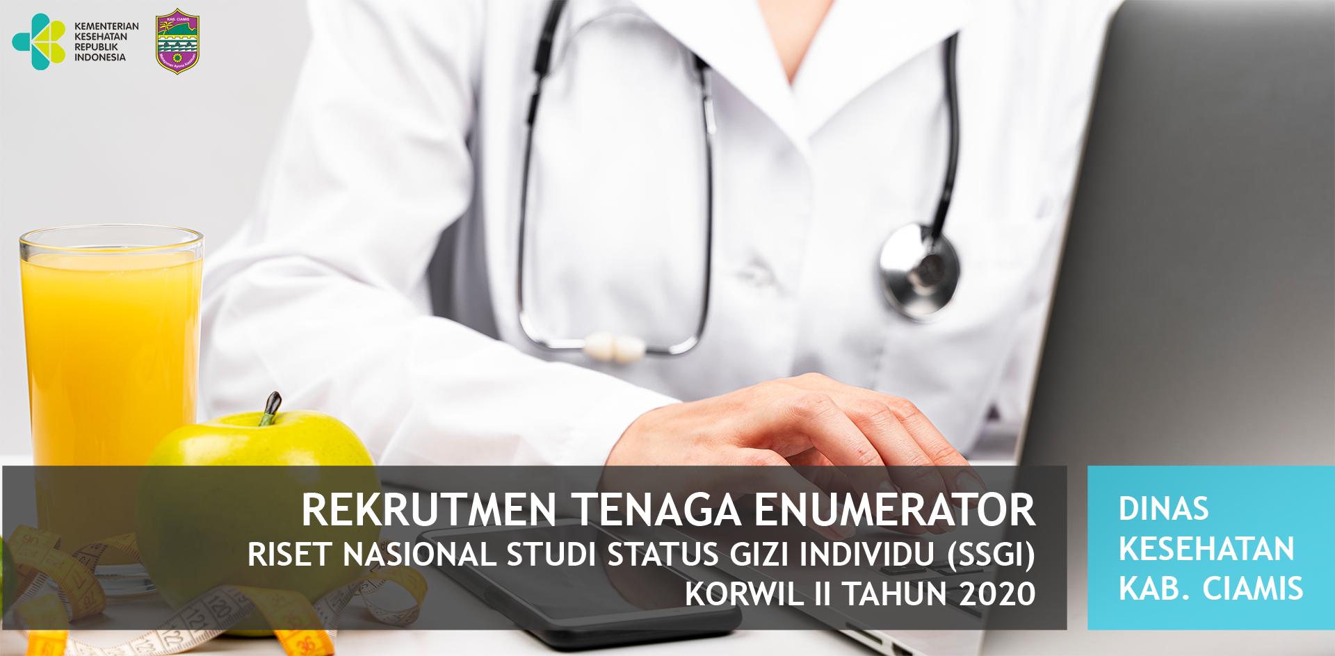 Hasil Evaluasi Persyaratan Administrasi Rekrutmen Tenaga Enumerator Studi Status Gizi Individu (SSGI)
