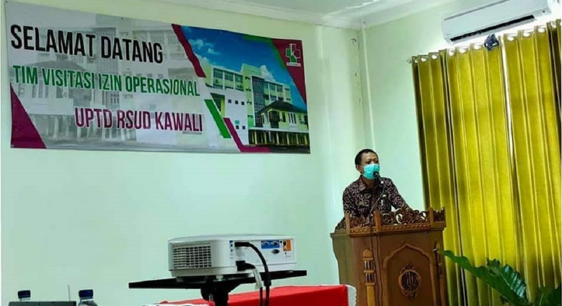 Sambutan Dalam Rangka Visitasi Izin Operasional RSUD Kawali